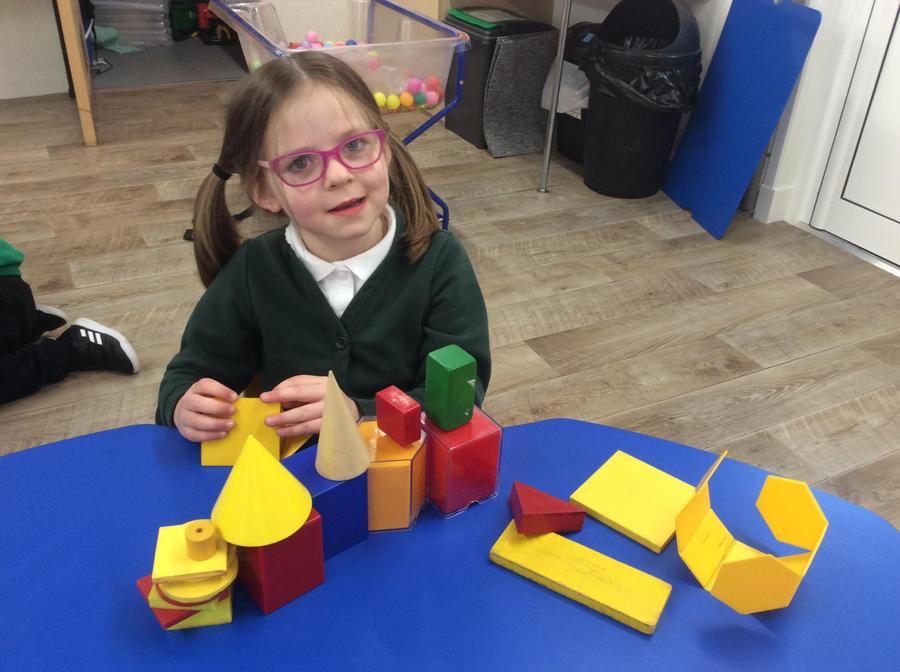 building a shape village