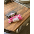 Amy-Louise has been making soap and giving it away