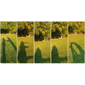 Spelling out 'Hello' in shadows