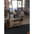 We have had lots of fun in the water tray!