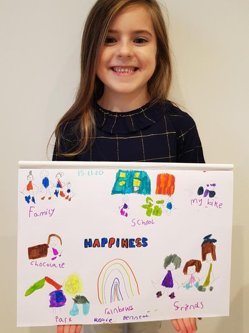 Rosie's happiness homework
