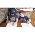 Blindfold drawing challlenge!