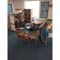 We have been exploring the Role Play Area!