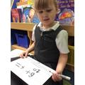 Writing number sentences