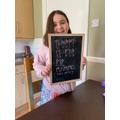 Reenie's rune writing