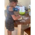 Evie has baked bread...