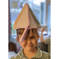Ellie's Norman Soldier Helmet!
