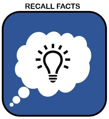 The ability to recall information is a crucial learning skill