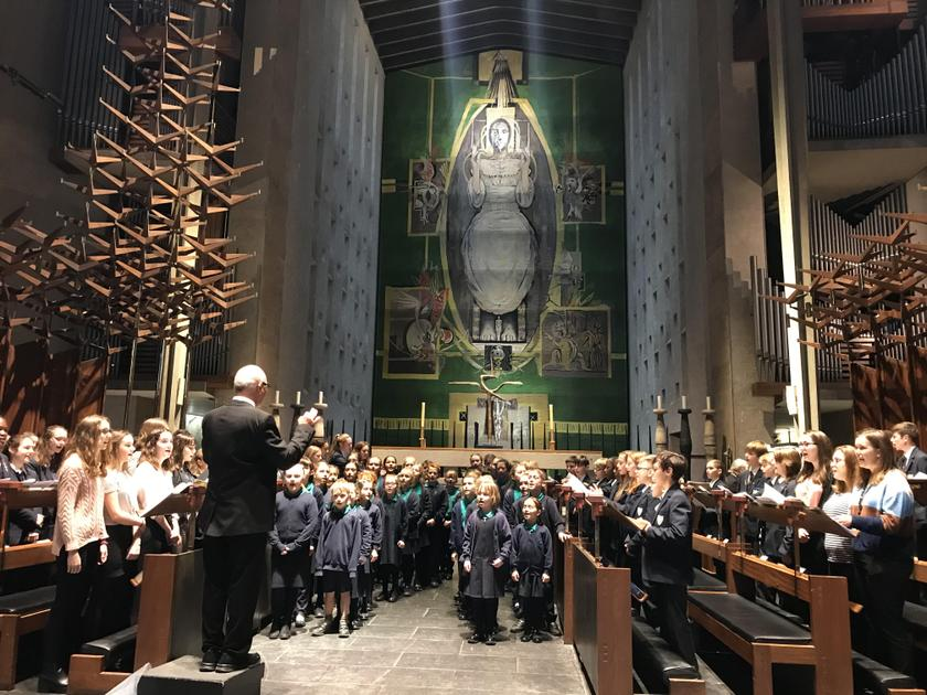 KS2 Choir Perform at the Diocesan Centenary Service