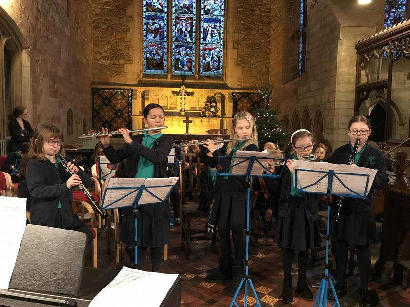 Woodwind Ensemble at St Edith's Church
