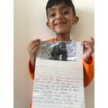 Wonderful gorilla fact file Charlie!