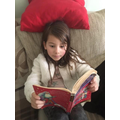 Isobel just finished reading Harry Potter.