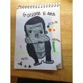 Evie's Gorilla poster