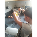 Theo has had lots of fun baking!
