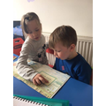 Teaching reading!