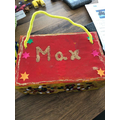 Well done Max- loving the glitter!