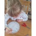 Olivia's clock