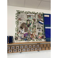 SDG display at North Worcester Primary Academy