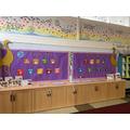SDG display at Cranham Primary School