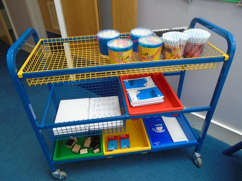 The new writing trolley