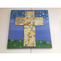 Yr 4 Holy Trinity - Mixed Media Canvas