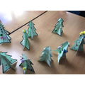 Art Christmas Trees