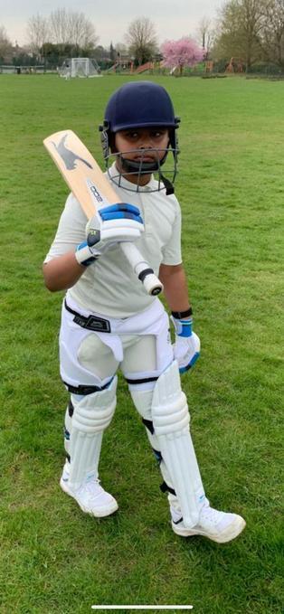 CYC-Cambridgeshire U11 Boys' County Squad Cricket Player