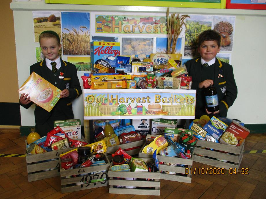 Some of our Foodbank donations