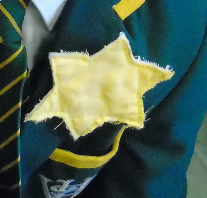 Nazis ordered Jews to wear a yellow star