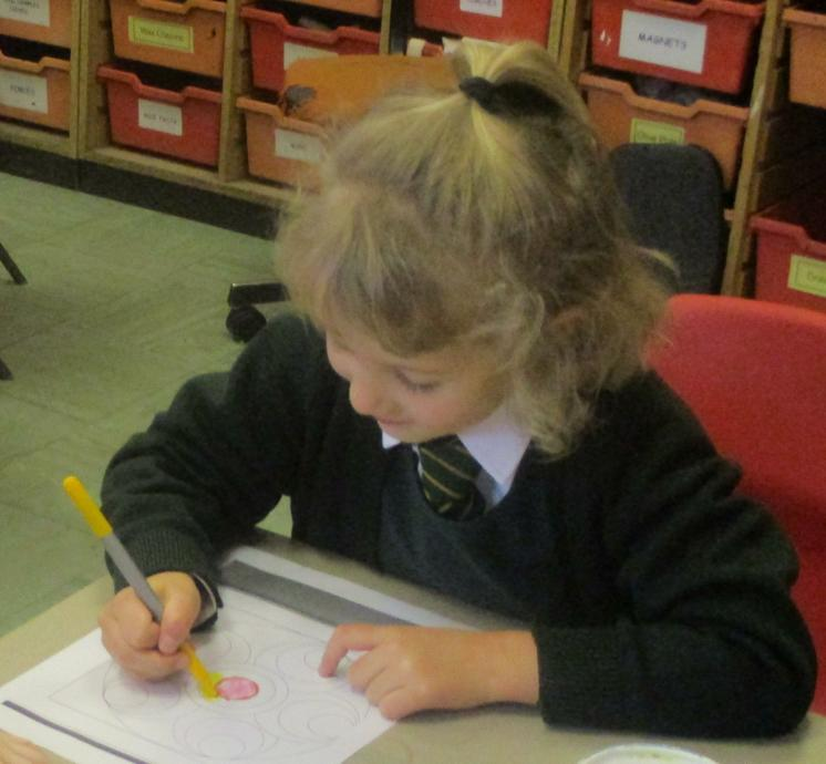 The children wrote about their feelings.