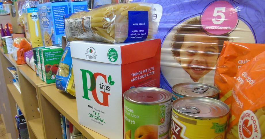 Some of our Foodbank collection