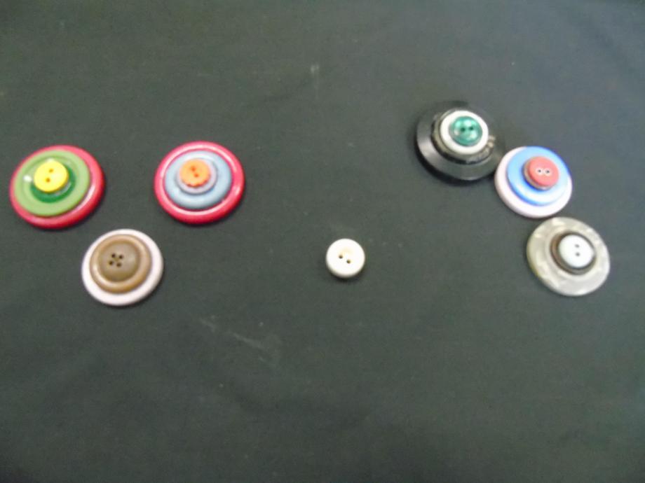 Button football pieces