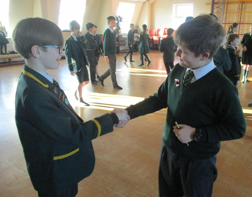Meeting & greeting warm-up