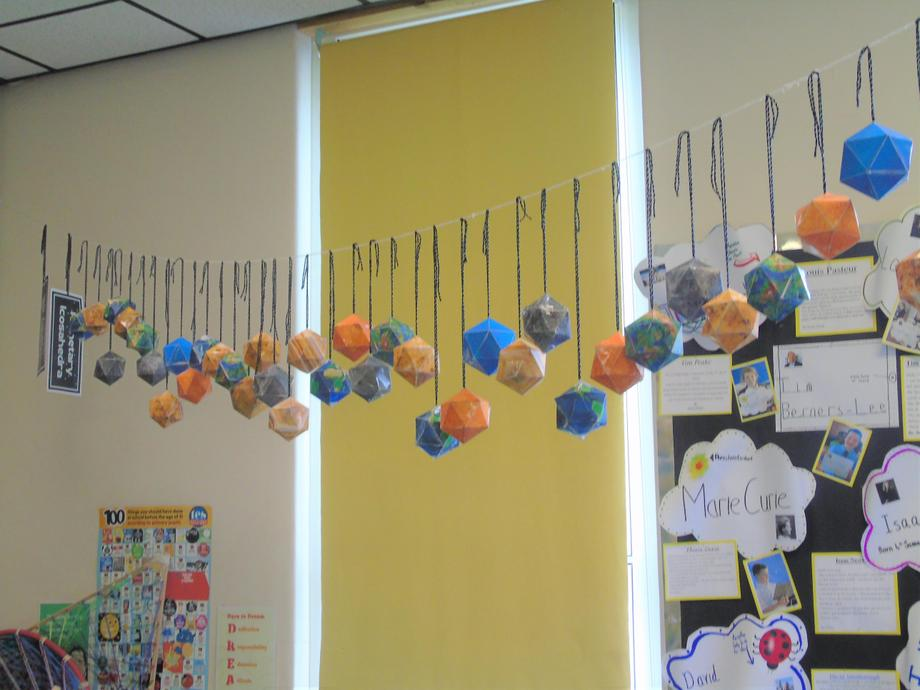 Planetary icosahedra