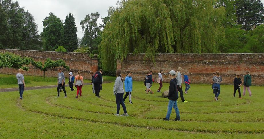 The labyrinth was lovely.