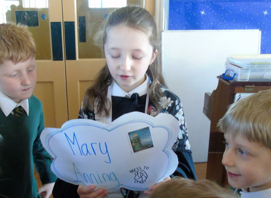 Mary Anning - a Victorian palaeontologist
