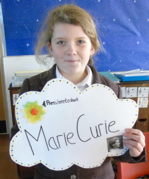Je suis Madame Curie