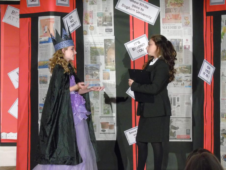The wicked stepmother is interviewed