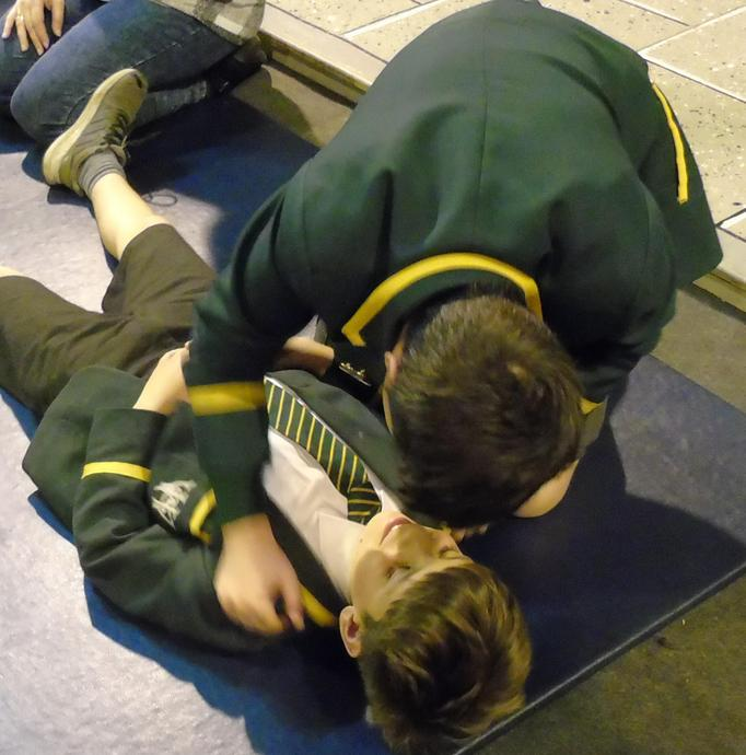 Preparing for the recovery position
