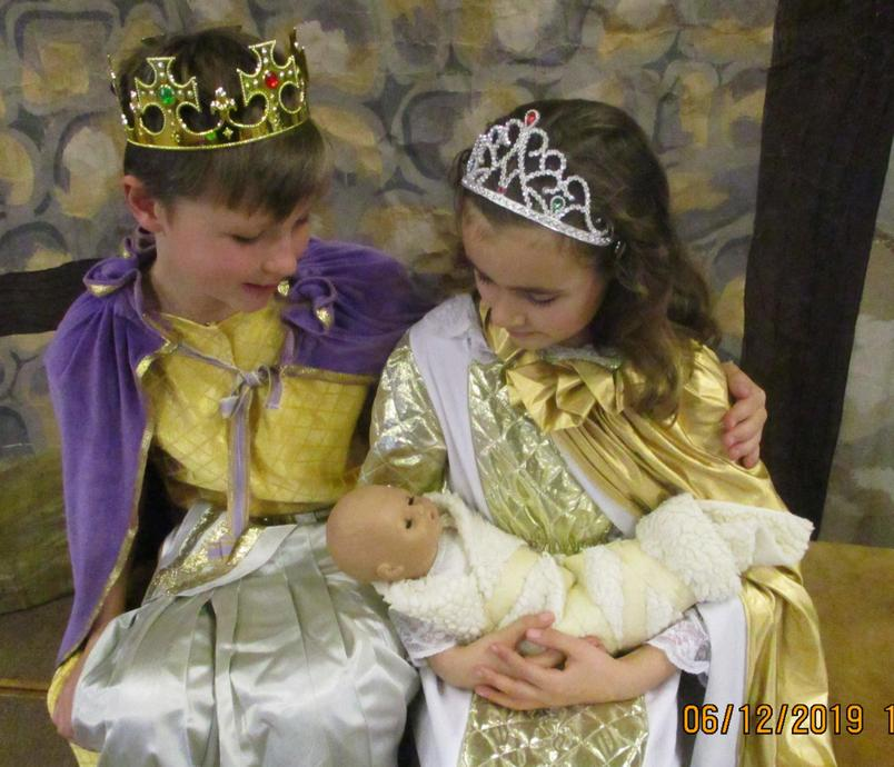 Sleeping Beauty - the King & Queen