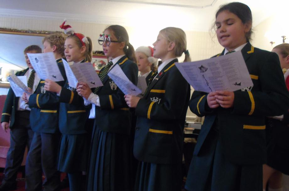 Carol Singing at St.John's Park