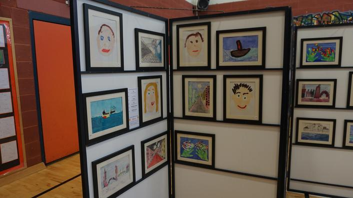 Art work by every child in school