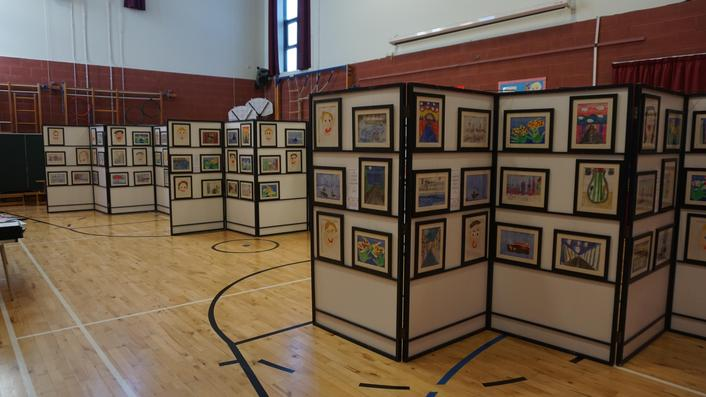 Parents invited to purchase art works