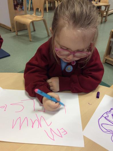 Brilliant name writing Elsie.