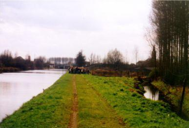 The Sambre-Oise Canal - where Wilfred Owen was killed in action