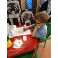 In the Spring Term2 we have a role play hospital.