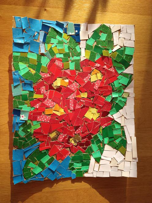George 2JS - A marvellous mosaic.