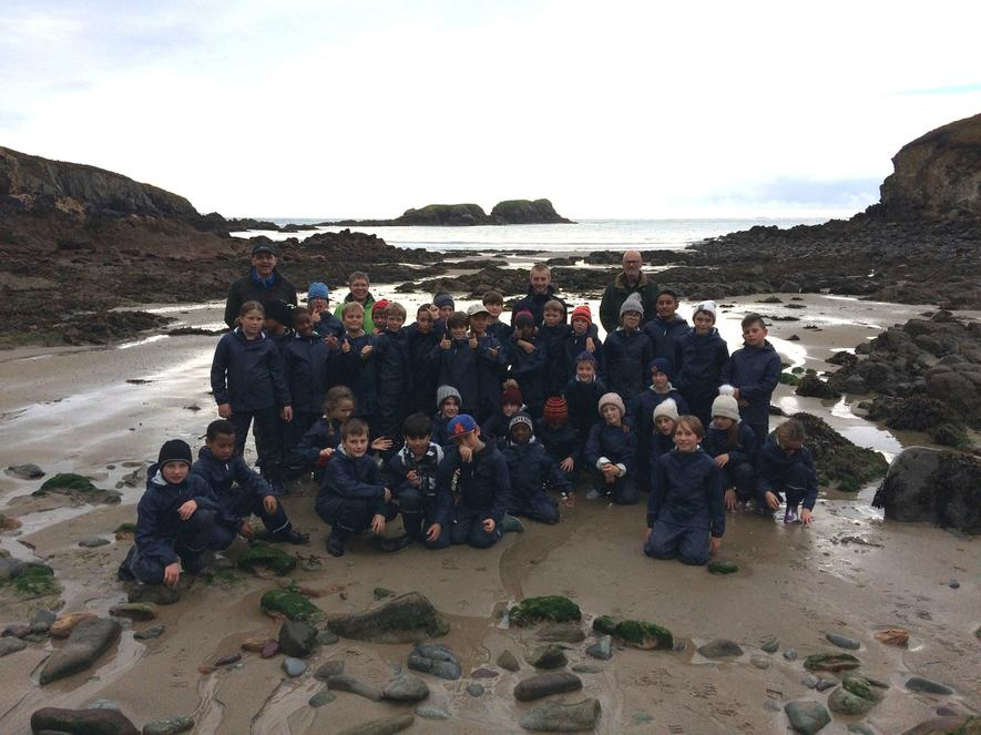 Our young farmers explore the Pembrokeshire coast.