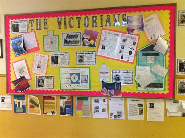 Victorian Research Display