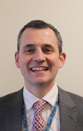 Scott Garrity, Head of QEGS Academy